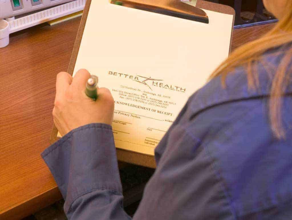 chiropractic-patient-paperwork-alaska