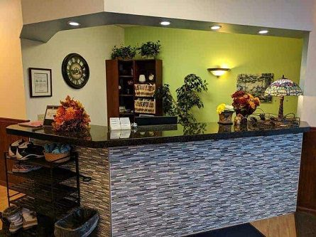 Better Health Chiropractic Midtown Anchorage Clinic's Front Desk