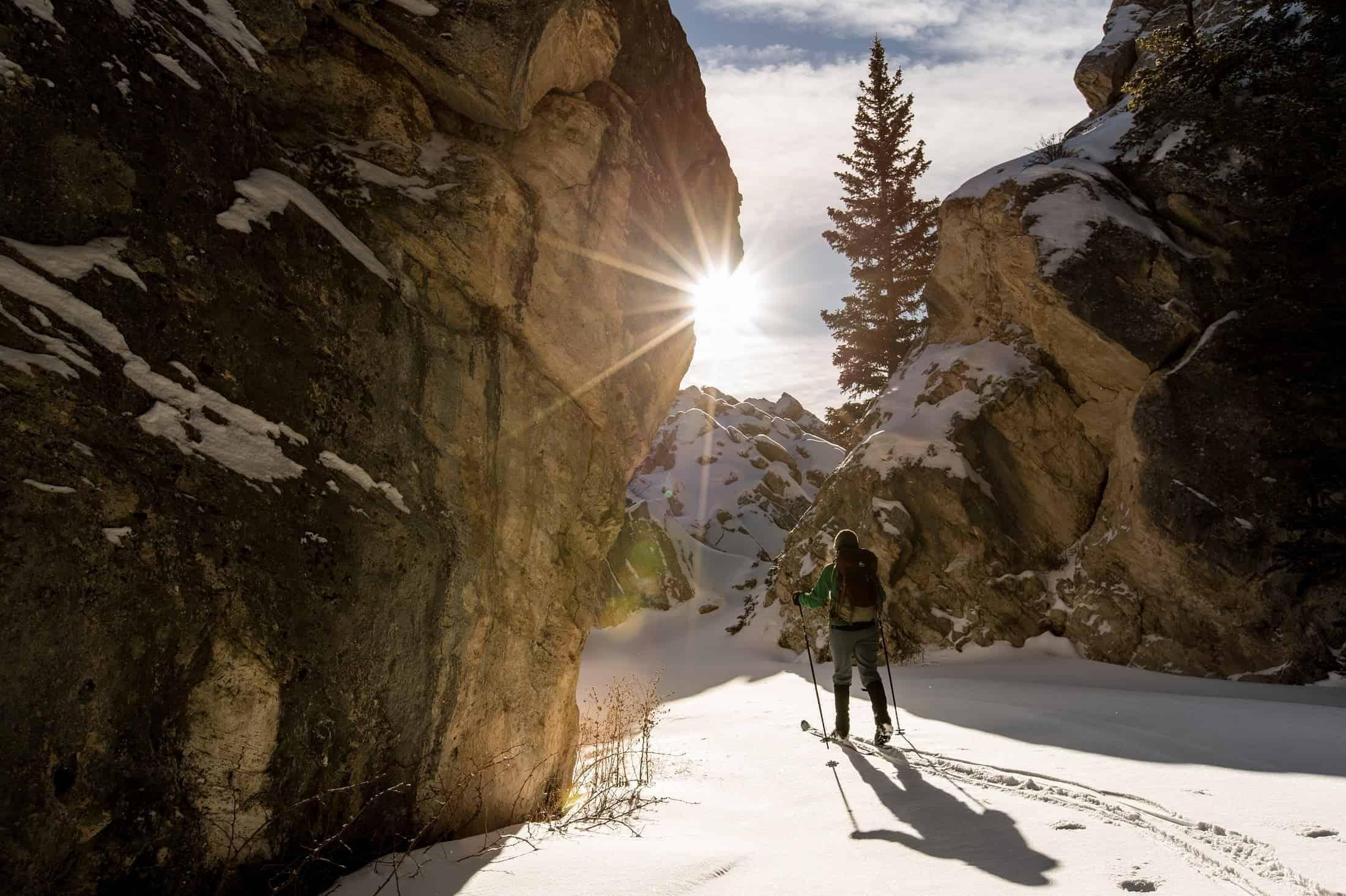 Outdoor activities during winter