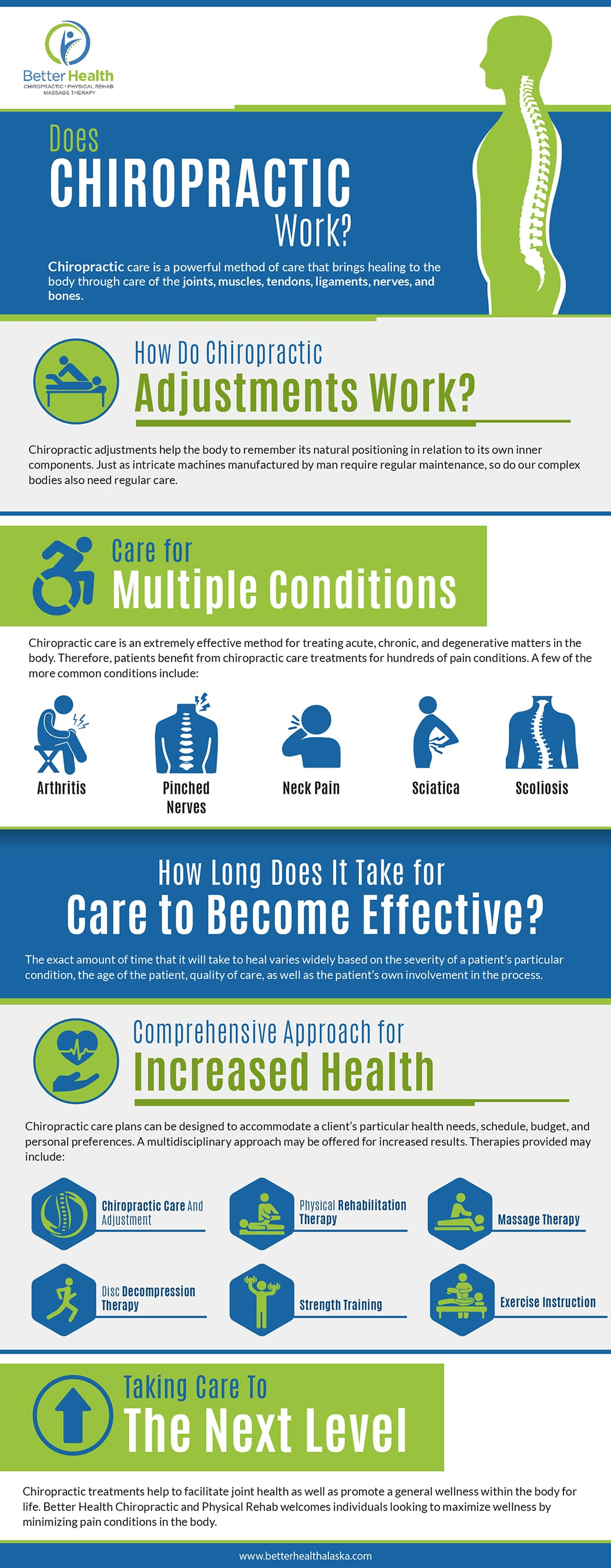Does Chiropractic Work Infographic