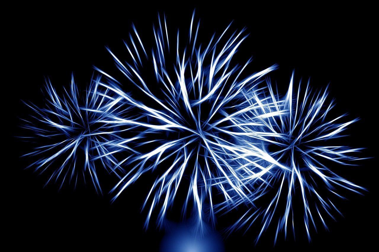 Delaney Park fireworks