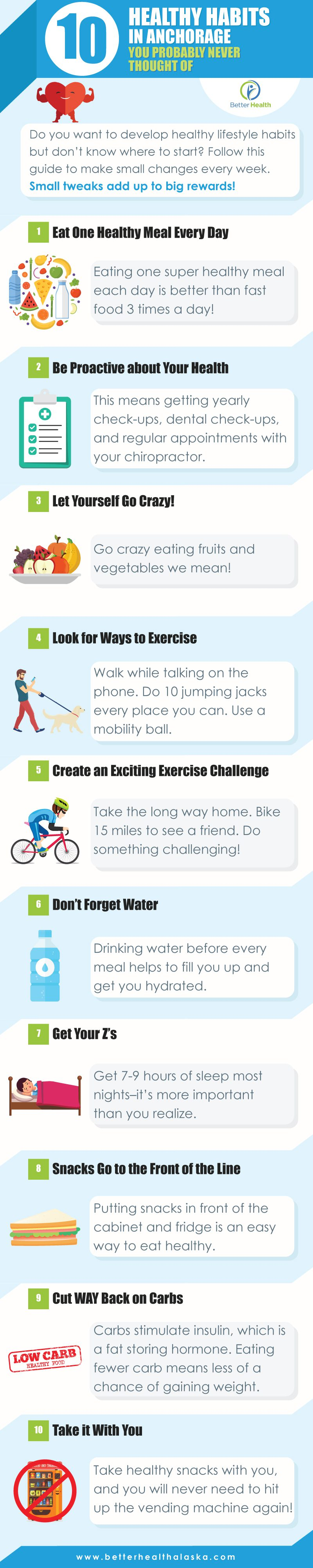 10 Healthy Habit Ideas in Anchorage You've Probably Never Thought Of Infographic