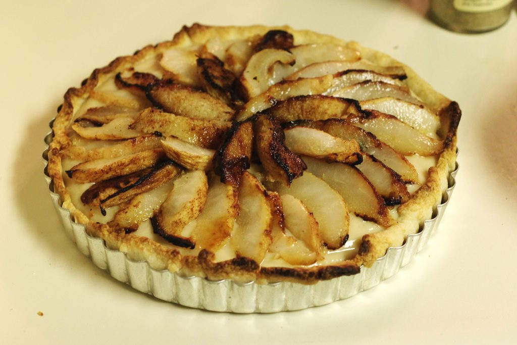 Toasty Pear Tart