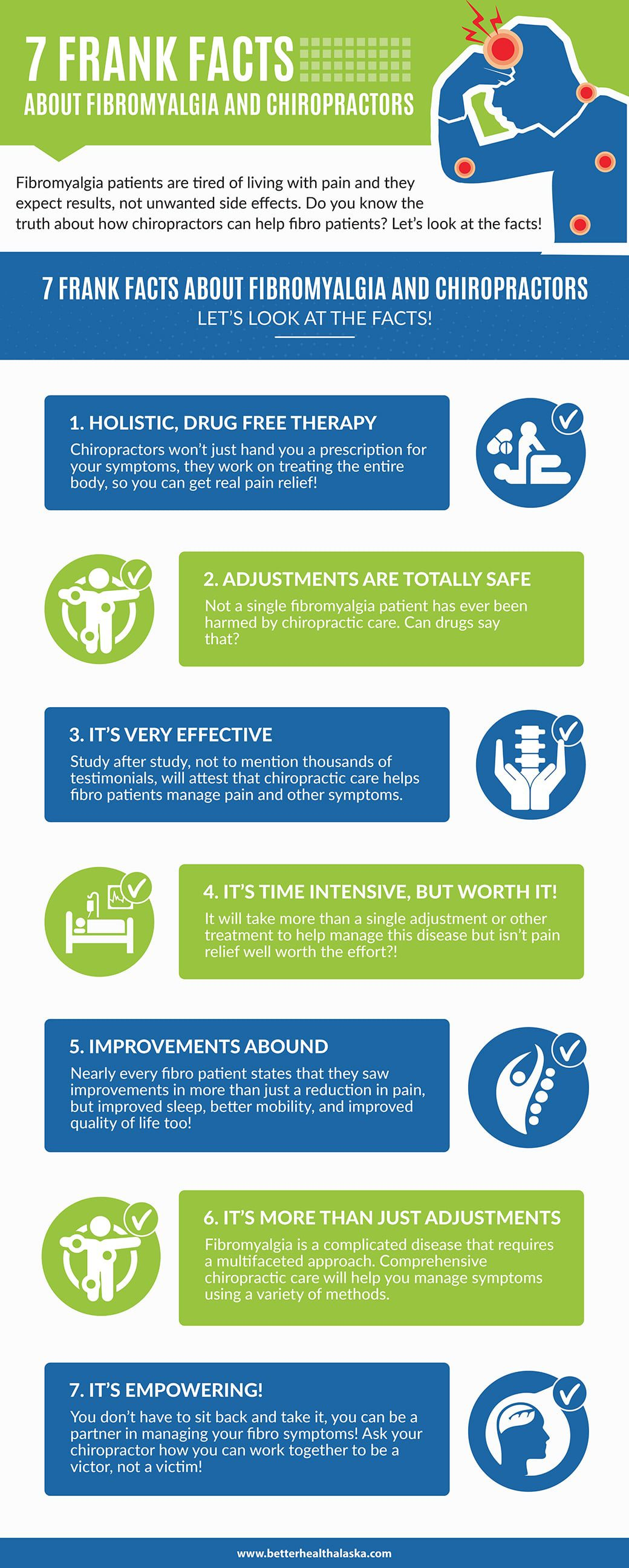 7 Truths about Chiropractic Every Fibromyalgia Patient Should Know Infographic