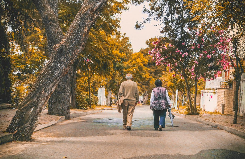 walking can help you maintain good balance