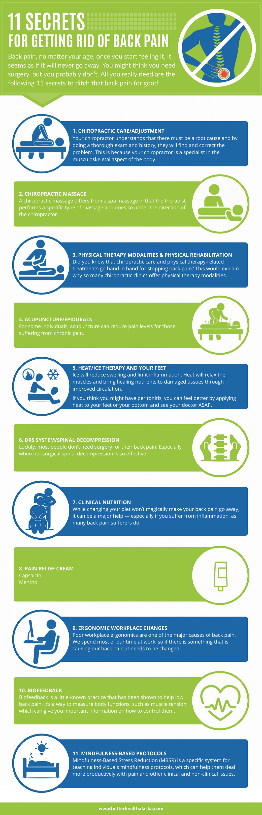 11-Secrets-for-Getting-Rid-of-Back-Pain-infographic